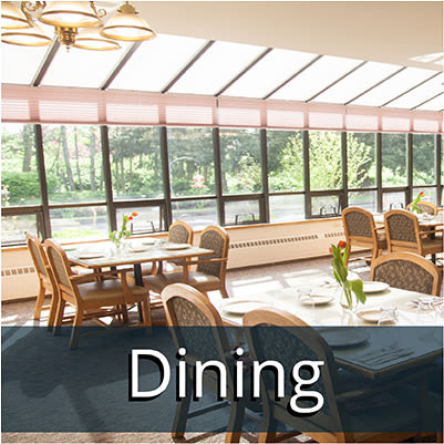 Dining at Logan Creek Retirement Community