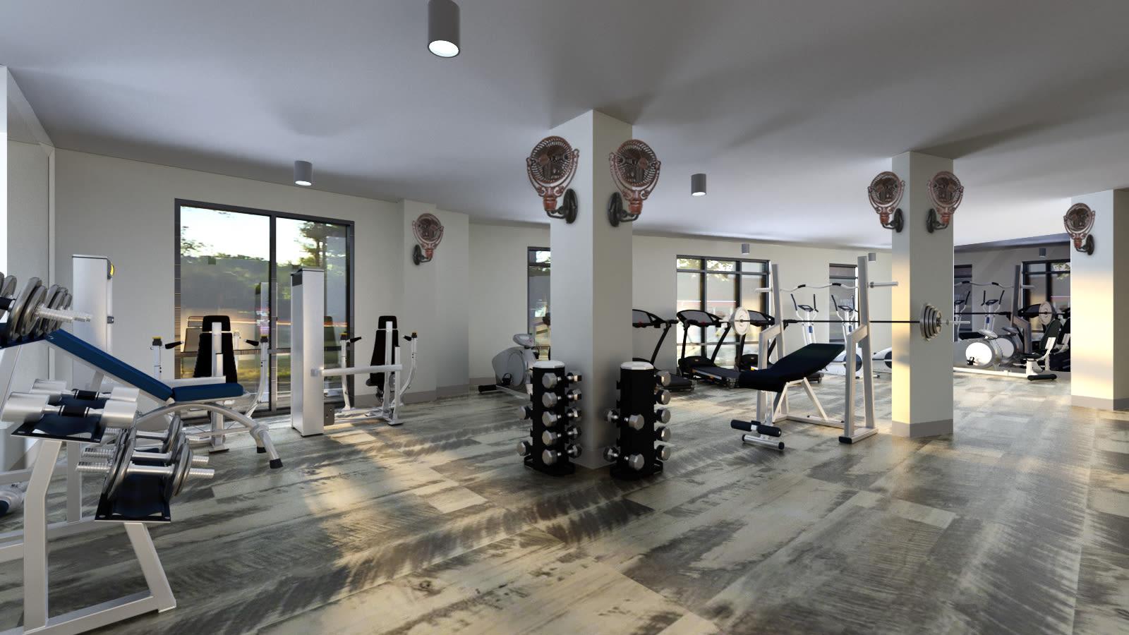 Fitness Center at The Jaxon