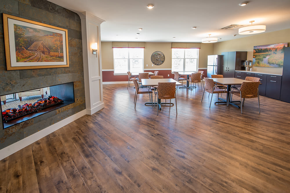 Cappella of Grand Junction open interior space with dining area