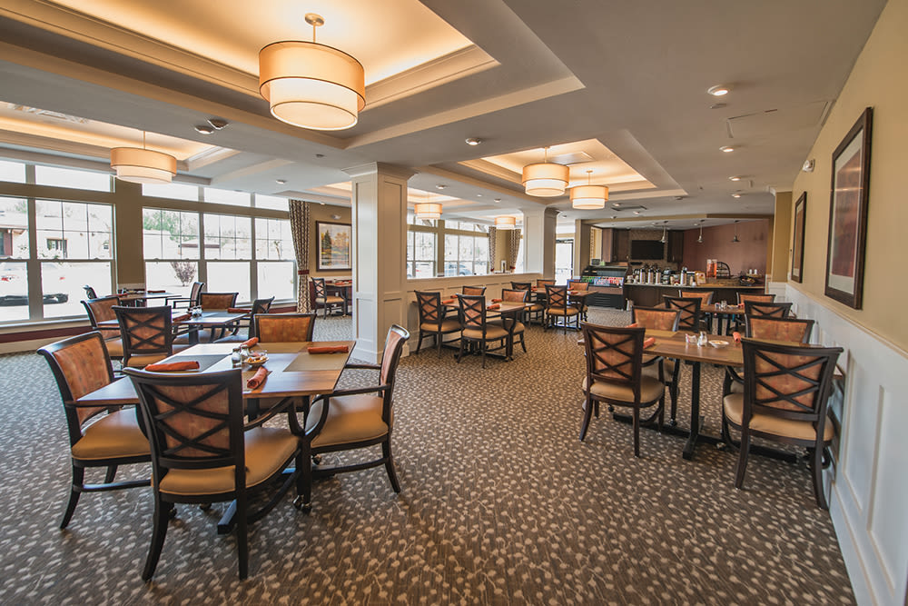 Cappella of Grand Junction dining area