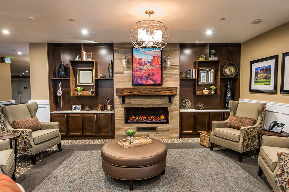 Cappella of Grand Junction living room area