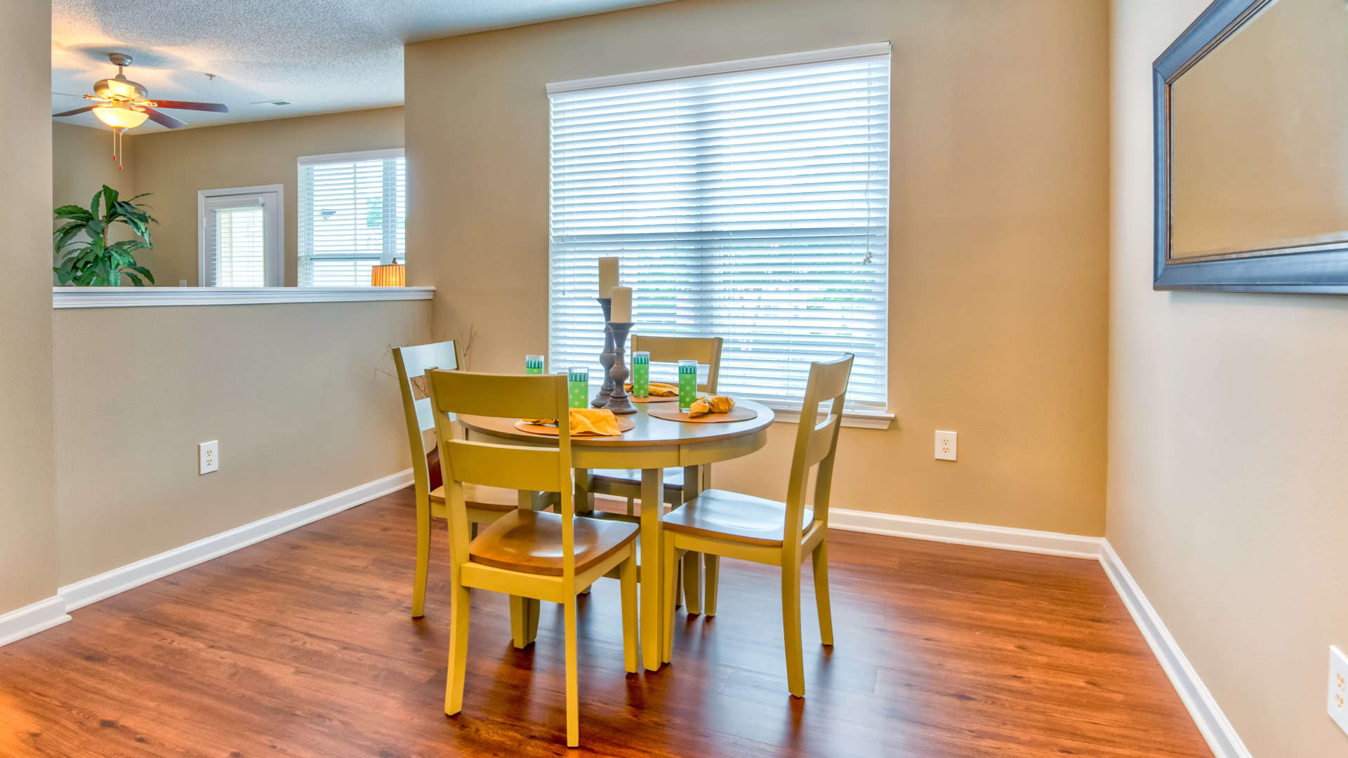 Dining room at 200 East in Durham, North Carolina