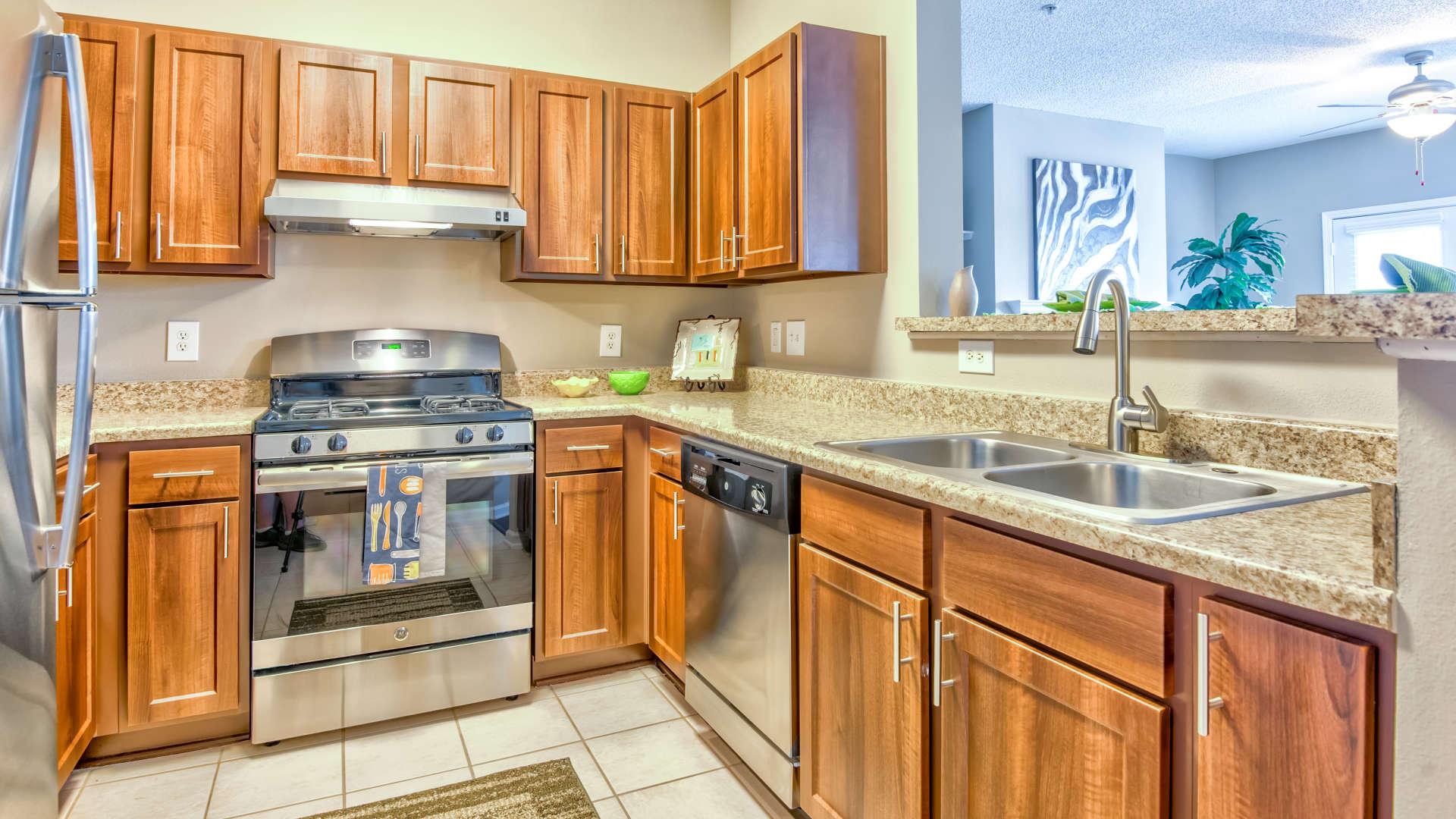Modern Kitchen at 200 East in Durham, North Carolina