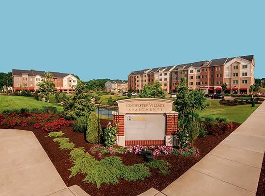Visit Rochester Village Apartments at Park Place Website