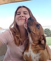 Cassie at University Pet Resort in Merced, California