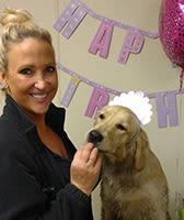 Sara at University Pet Resort in Merced, California