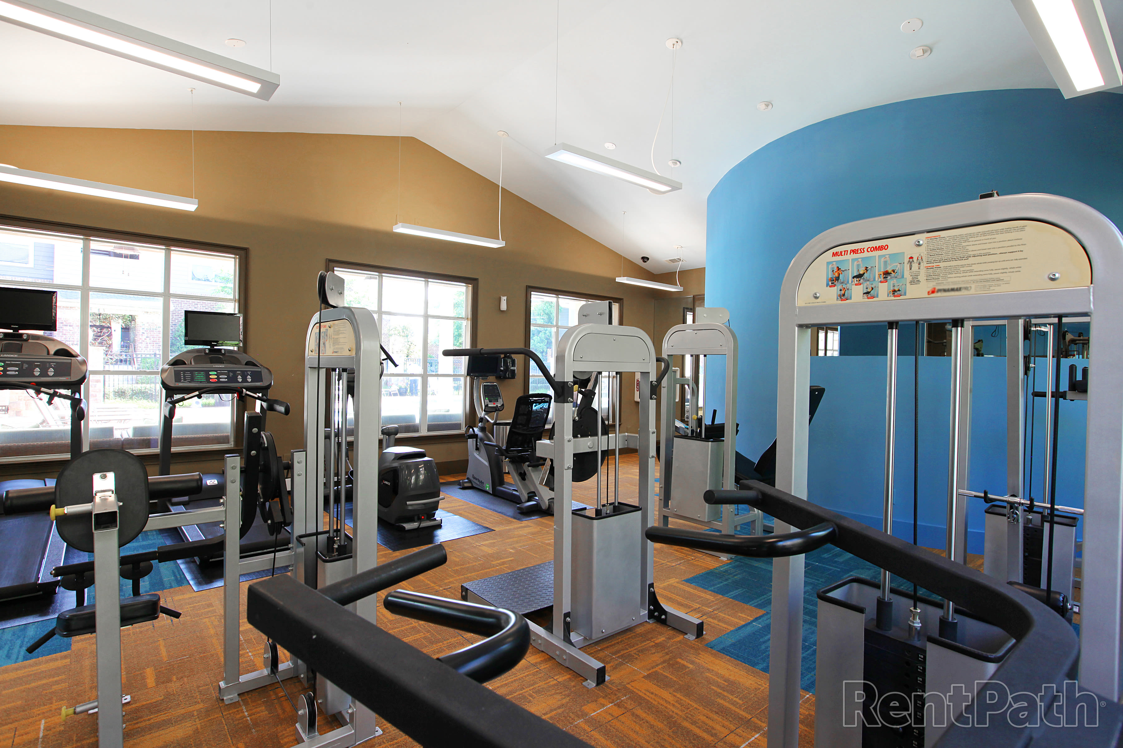 Fitness Center at Carrington Park Apartments