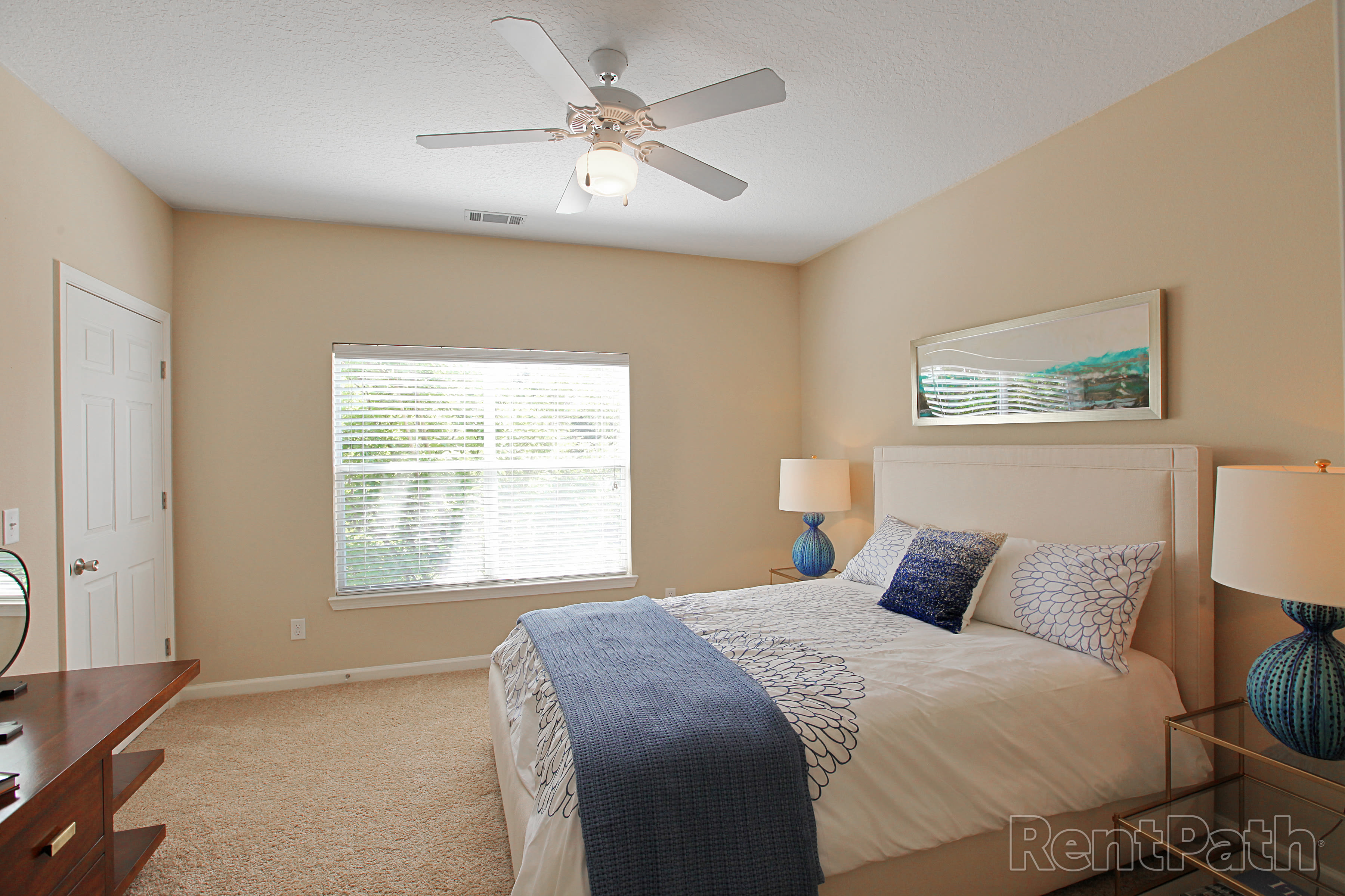 Lovely Bedroom at Carrington Park Apartments