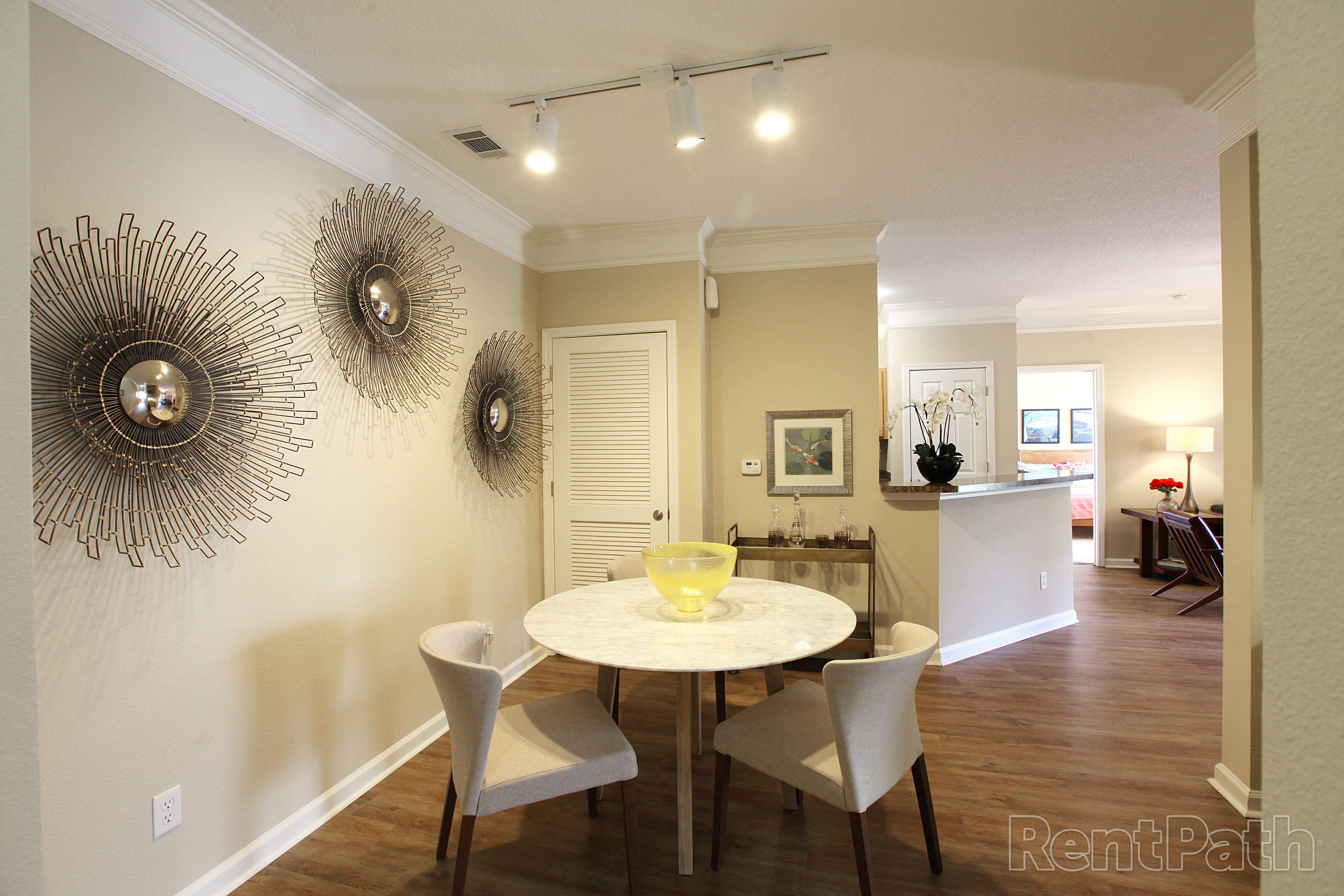 Dining Room at Carrington Park Apartments
