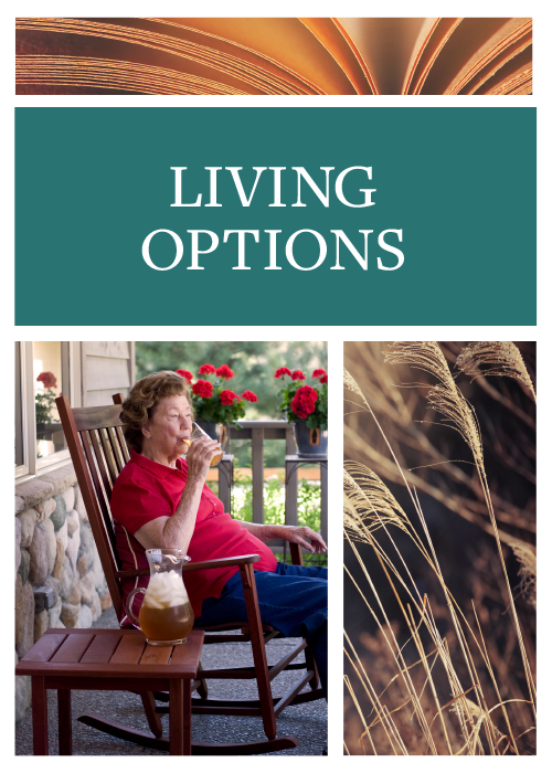 Living Options at Waldron Place Senior Living in Hutchinson, Kansas