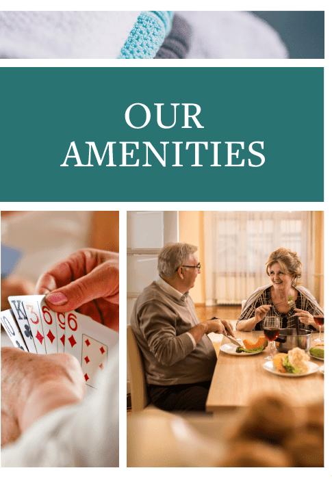 Amenities at Waldron Place Senior Living in Hutchinson, Kansas