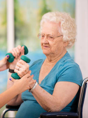 Health & Wellness at Centennial Pointe Senior Living in Springfield, Illinois
