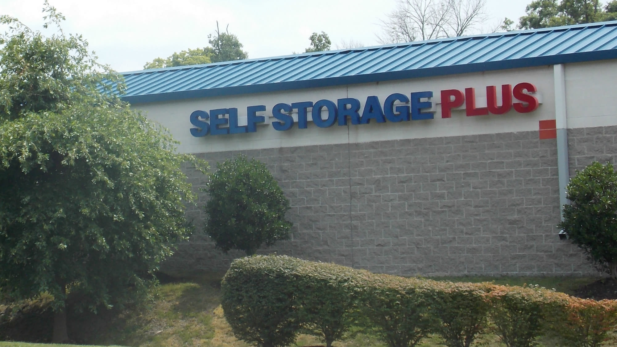 Sign at Self Storage Plus in Sterling, VA