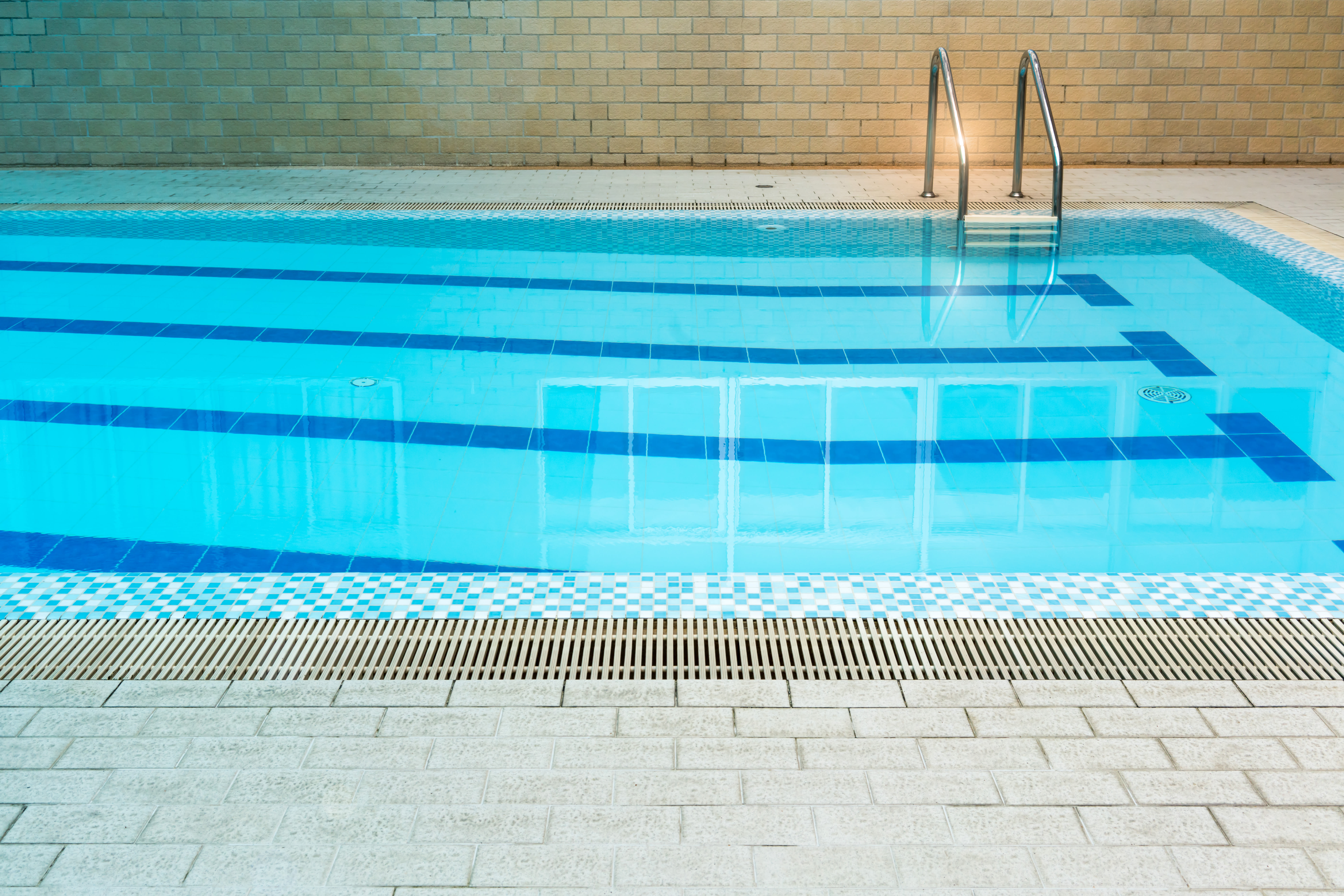 Swimming pool with lanes at The Venue in Rochester, New York