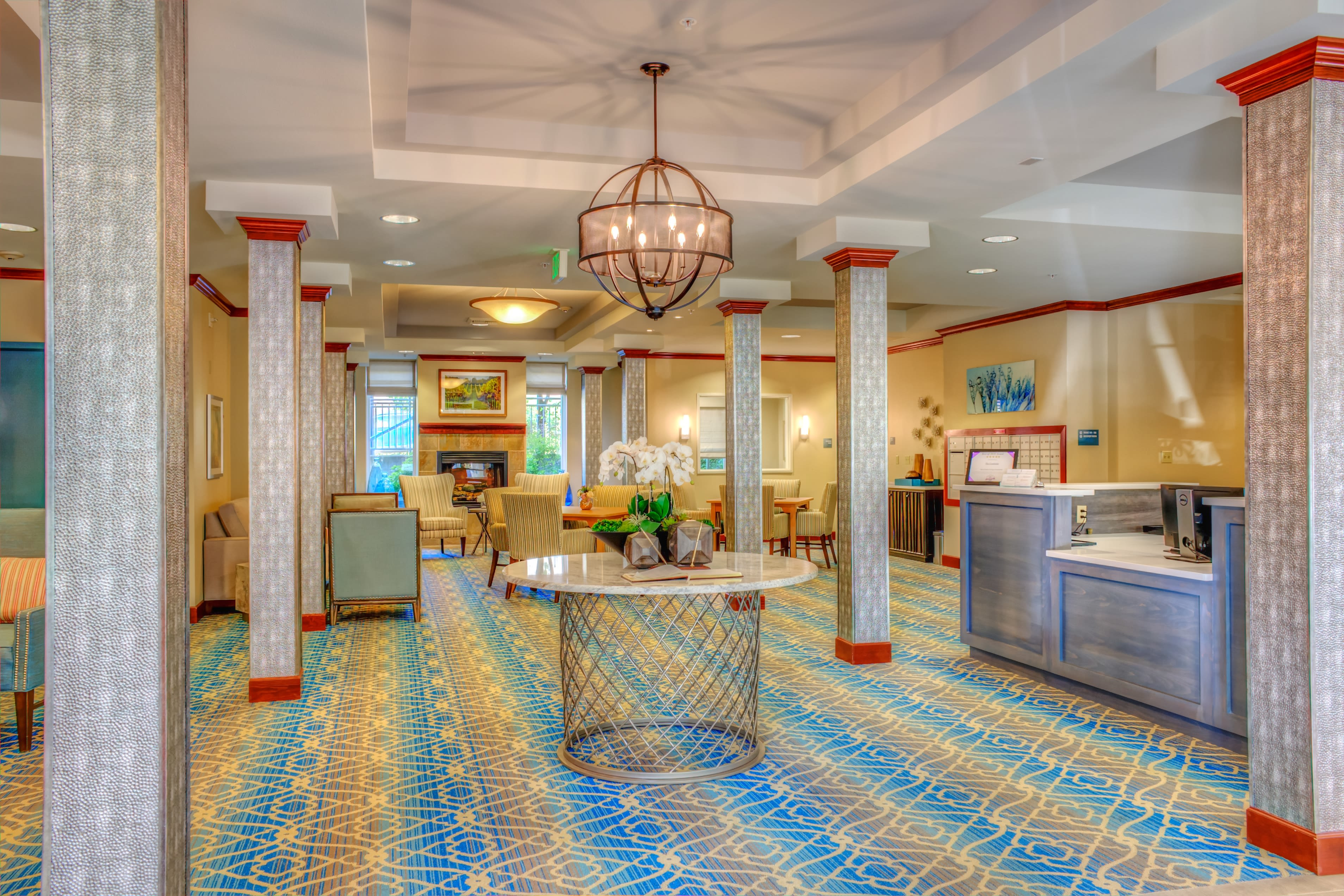 Living options for the senior living community in Woodinville