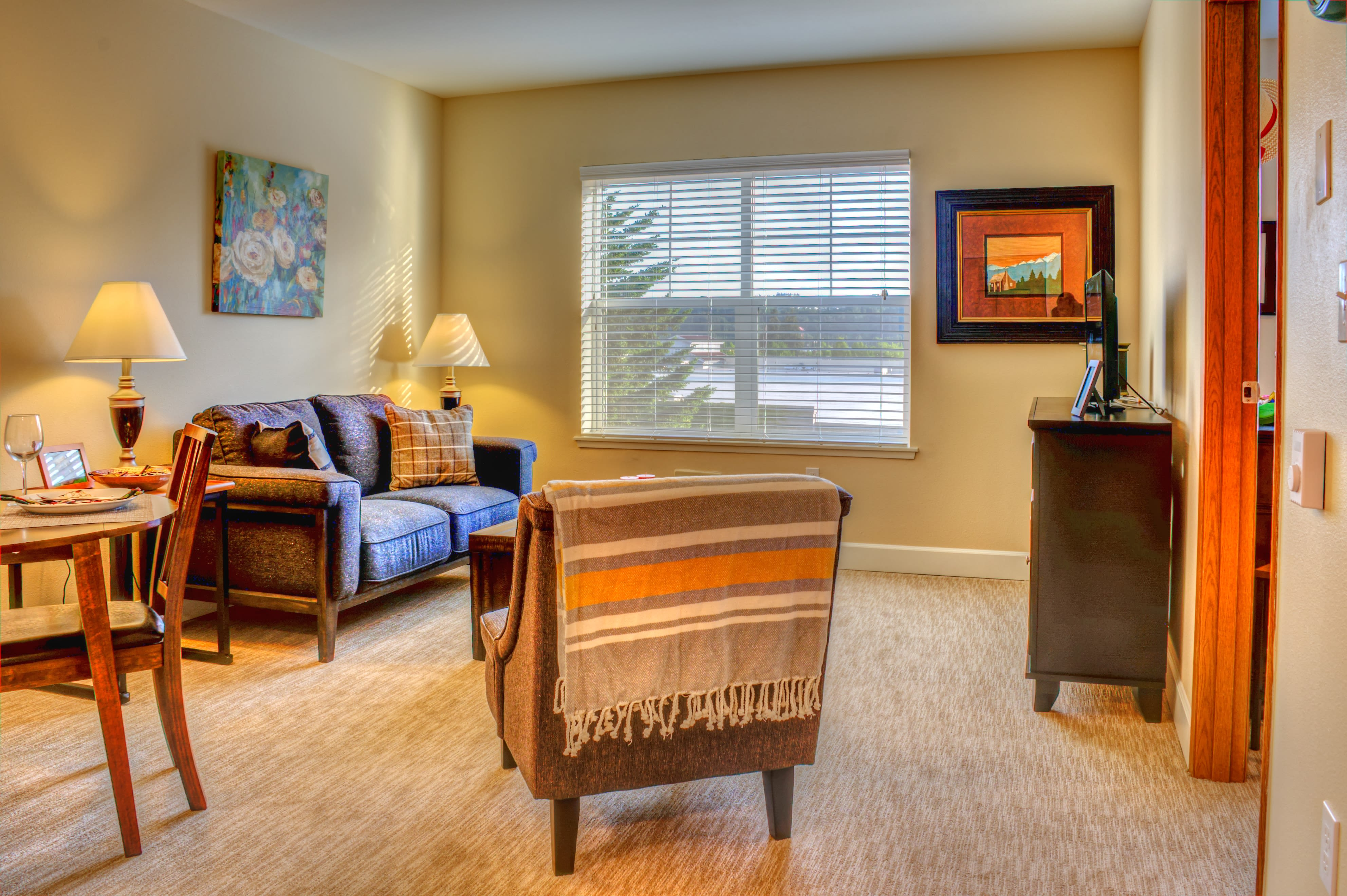View the spacious floor plans that the senior living in Woodinville is offering