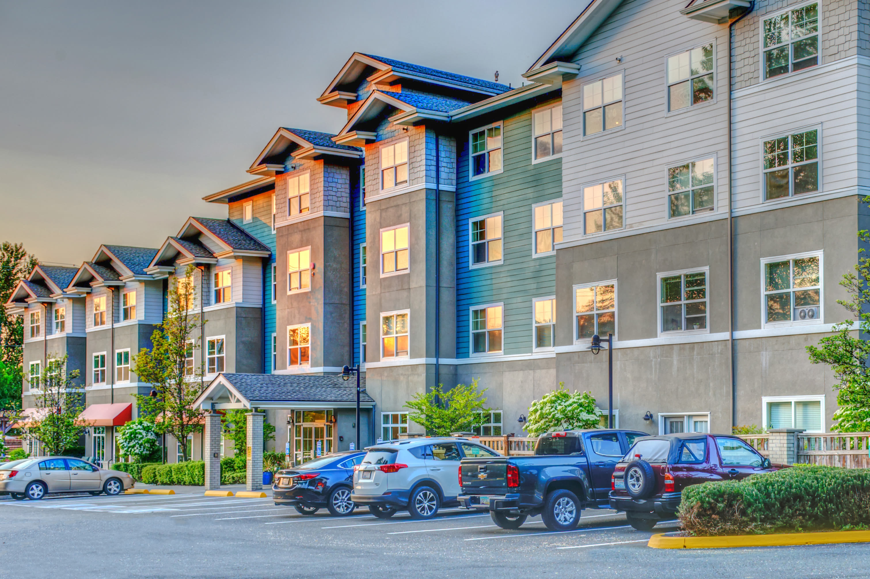 Our community at the senior living facility in Woodinville