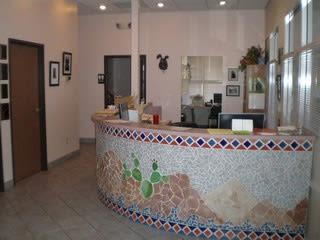 Lobby at River Road Pet Clinic in Tucson, Arizona