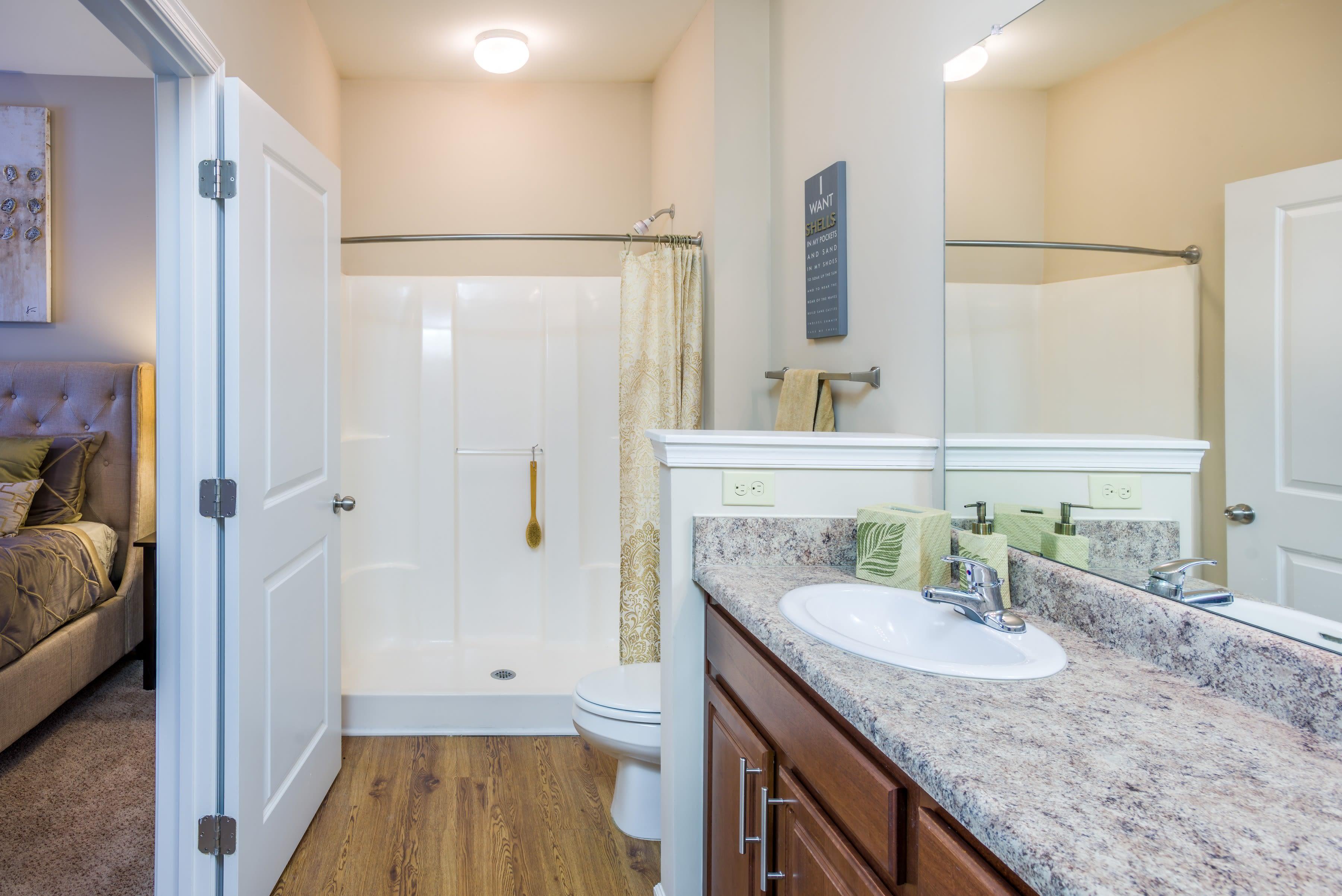 Bathroom at Arbor Village in Summerville, South Carolina