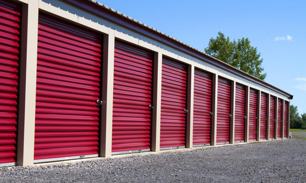 Clean and large storage units at A Better Self Storage Bott in Colorado Springs Colorado