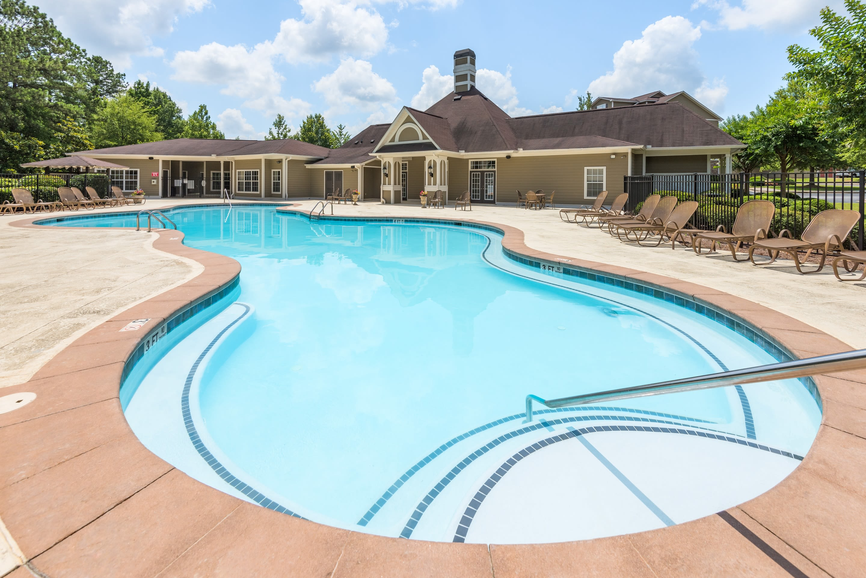 Our apartments in Douglasville, Georgia showcase a luxury swimming pool