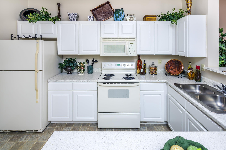 Our apartments in Douglasville, Georgia showcase a beautiful kitchen