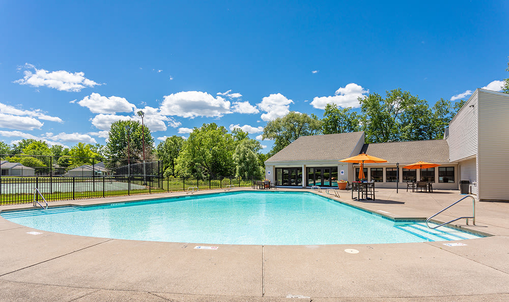 Swimming Pool at Penbrooke Meadows Apartments in Penfield, NY