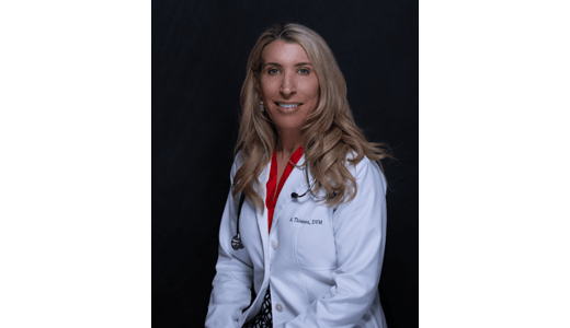 Dr. Annie Web at Lakewood Veterinary Clinic