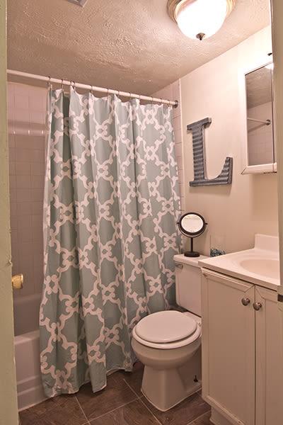 Bathroom at Lakeshore Drive