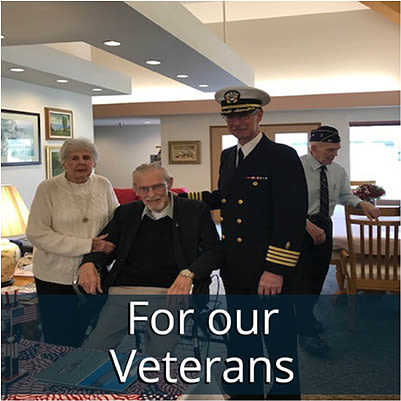 For our Vets at Logan Creek Retirement Community