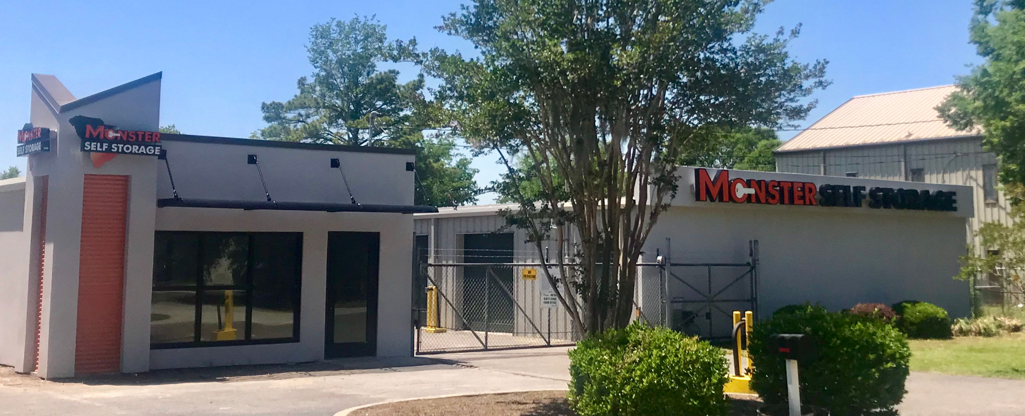 Self storage at Monster Self Storage in Orangeburg, South Carolina