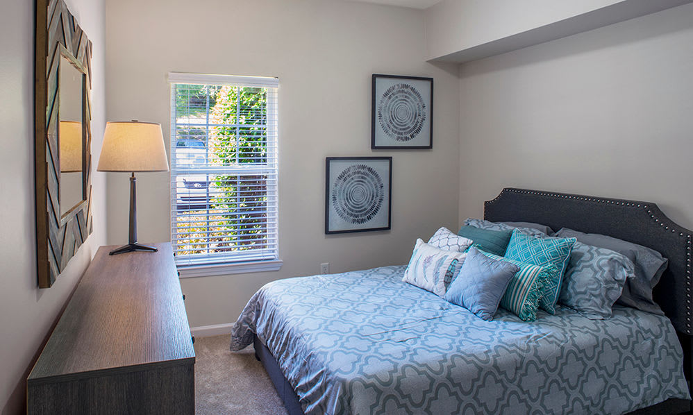 Beautiful bedrooms at Atkins Circle Apartments in Charlotte, NC