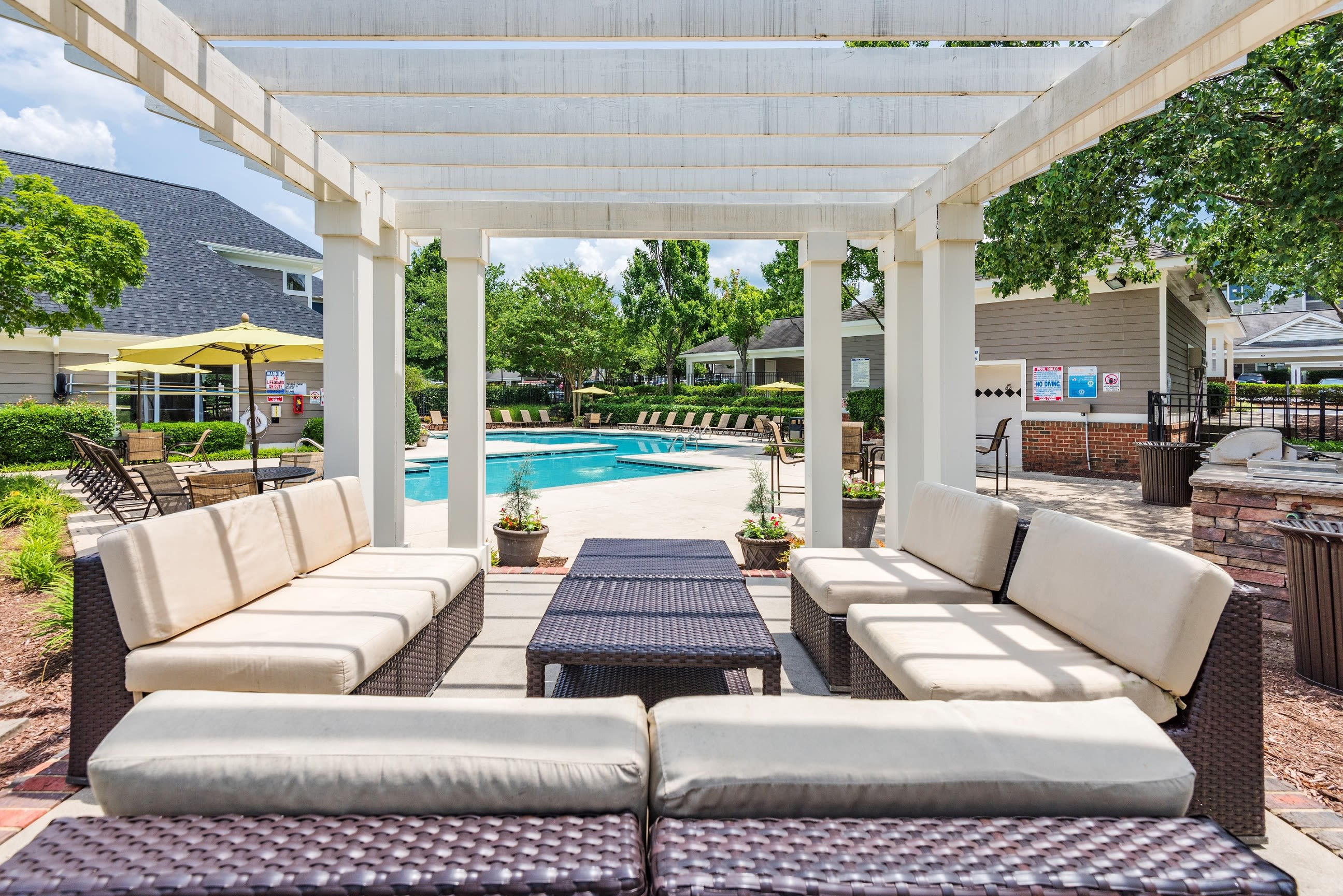 Pergola at The Mark in Raleigh, North Carolina