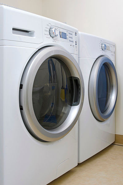 Laundry facility at The Venue in Rochester, New York