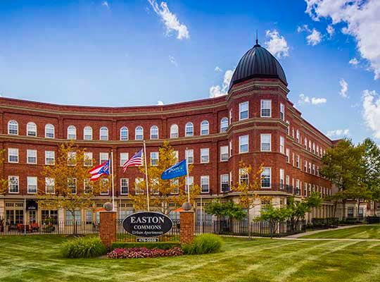 Visit Easton Commons website