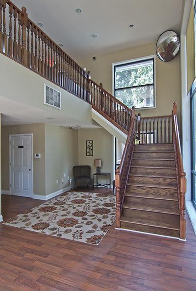 Spacious entryway at The Trails of North Hills in Raleigh, North Carolina