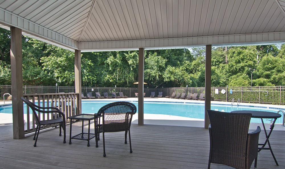 Our apartments in Raleigh, North Carolina showcase a beautiful swimming pool