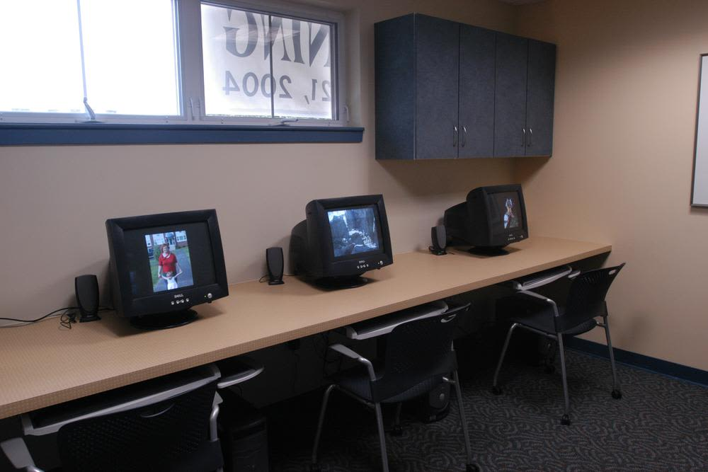 Computer Lab at Bay Village in Fall River, Massachusetts