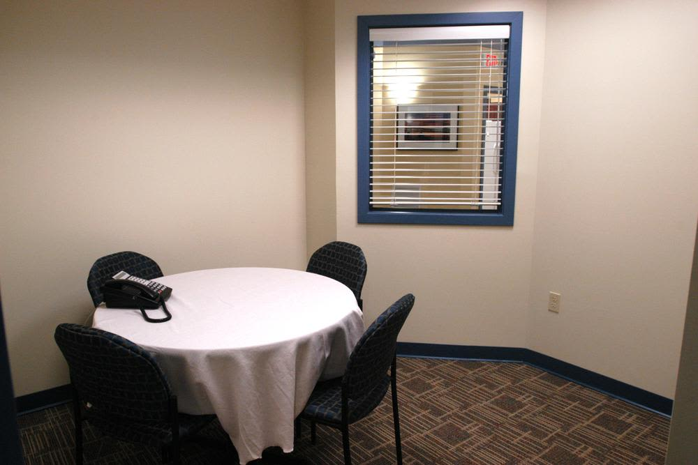 Meeting room at Bay Village in Fall River, Massachusetts