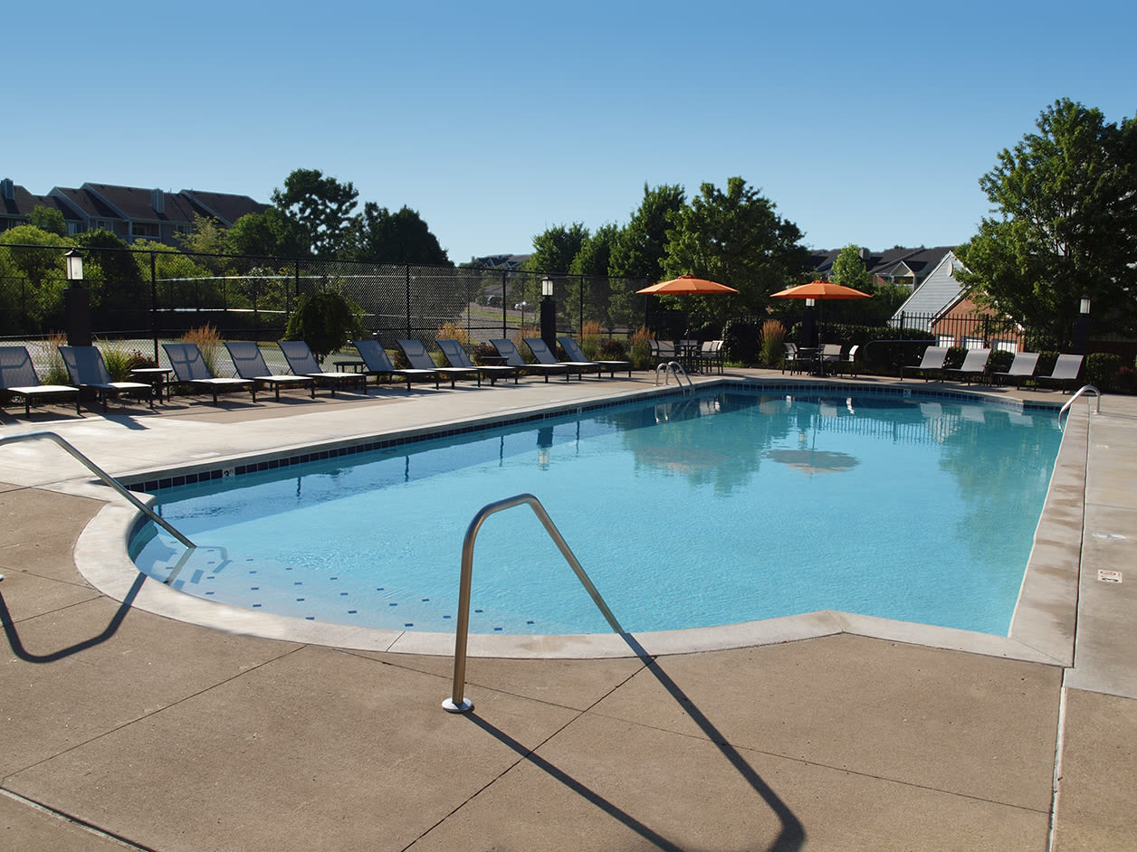 Swimming pool at Waterford Place in Loveland, Ohio