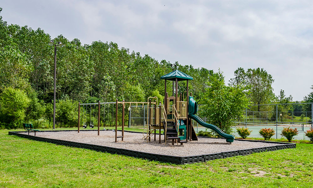 Beautiful playground at The Lakes at 8201 in Merrillville, Indiana