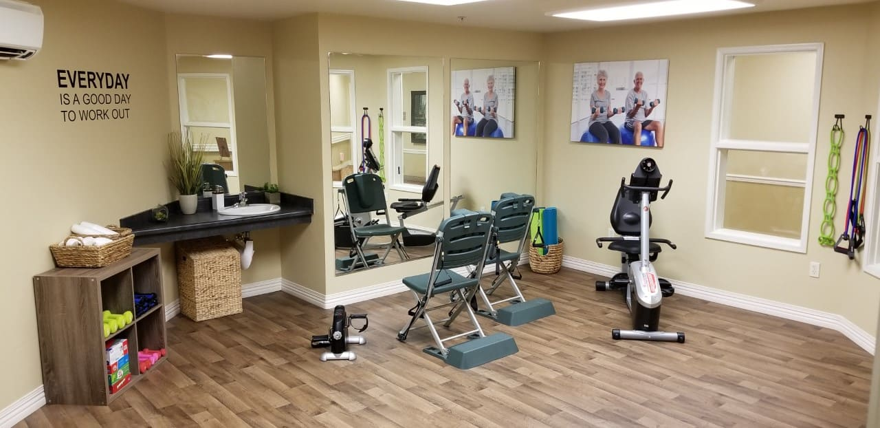 Fitness Center at The Commons at Union Ranch in Manteca, California