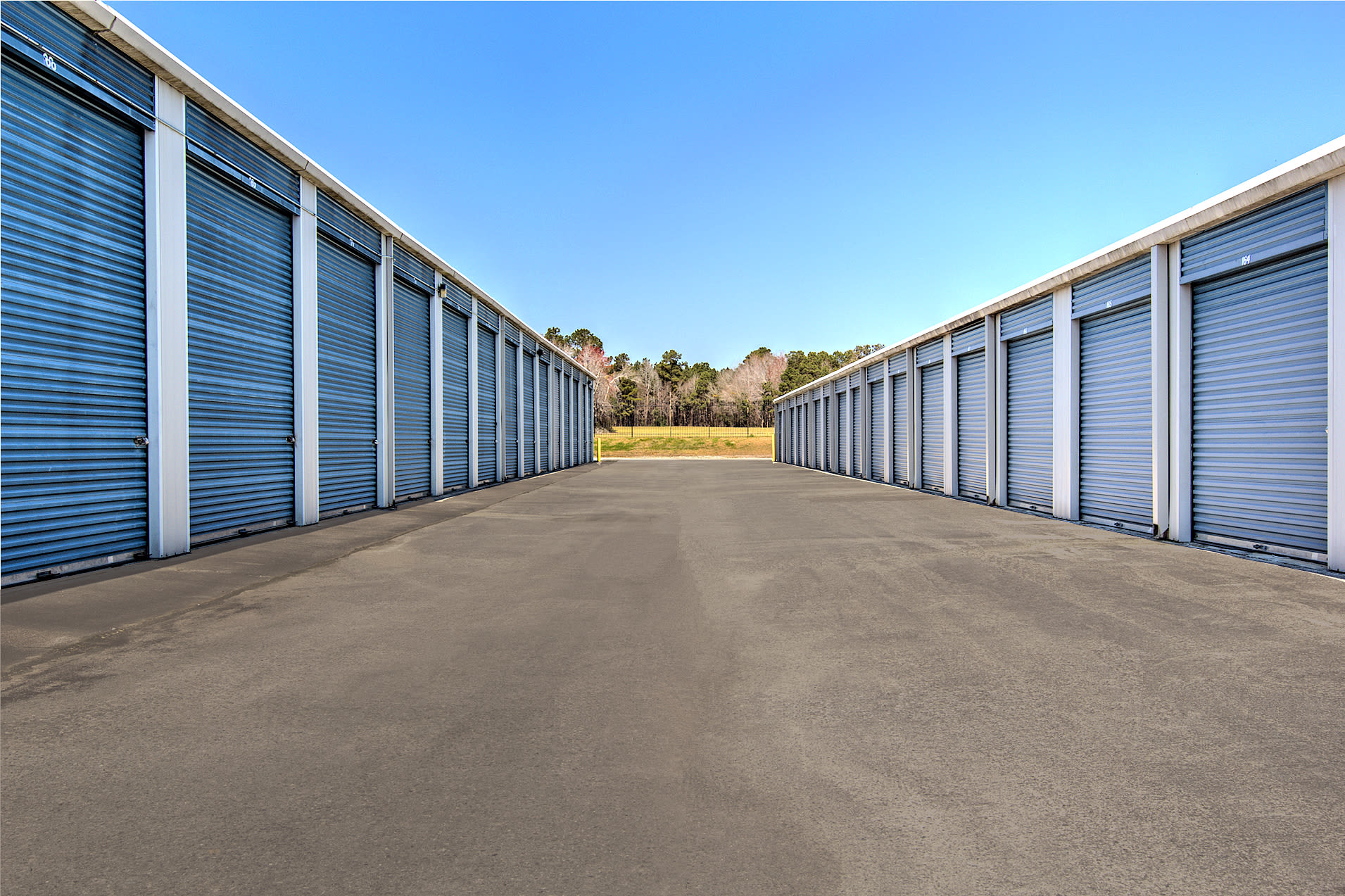 Wide driveways at Prime Storage in Shallotte, North Carolina
