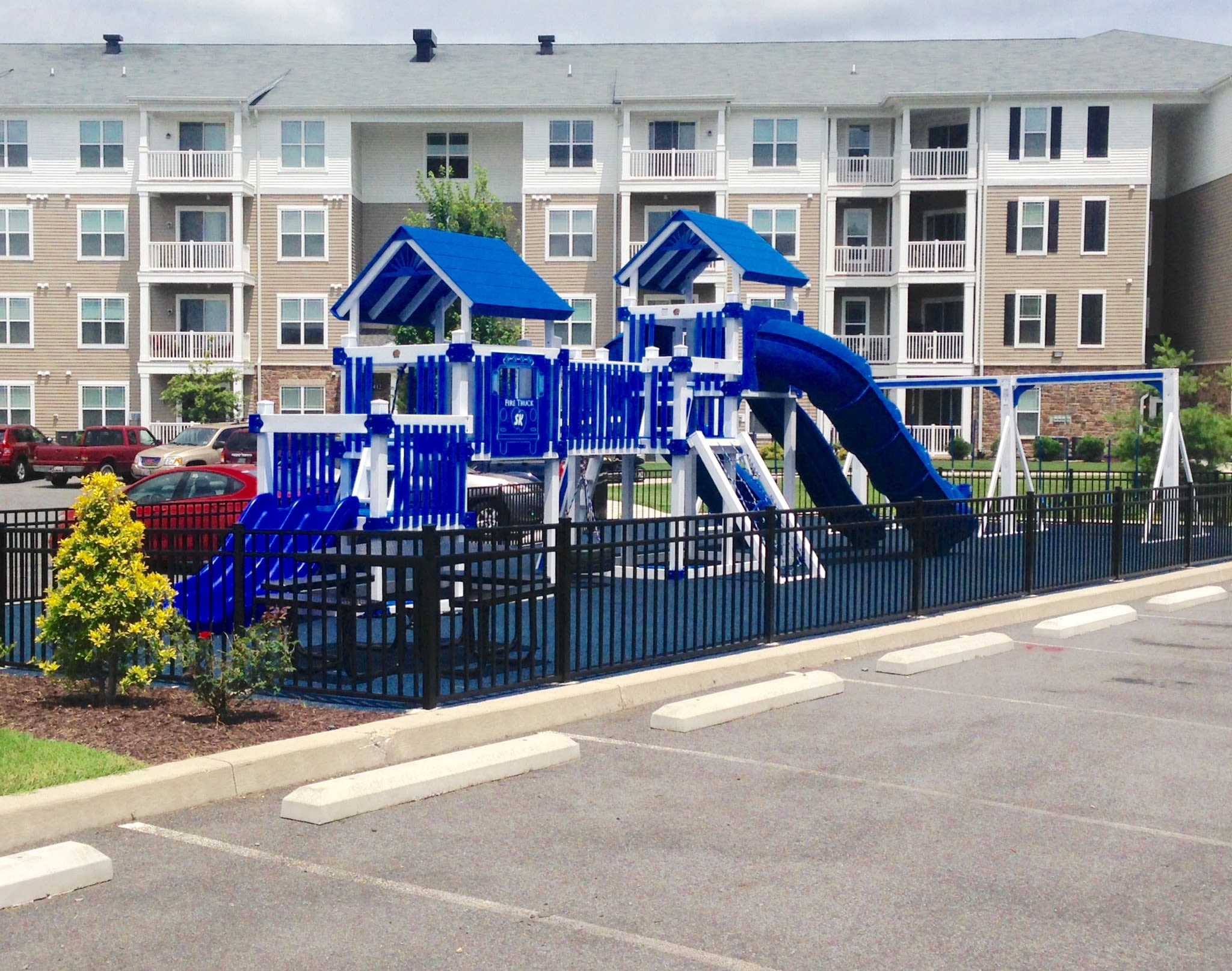 Playground at Addison Court in Salisbury