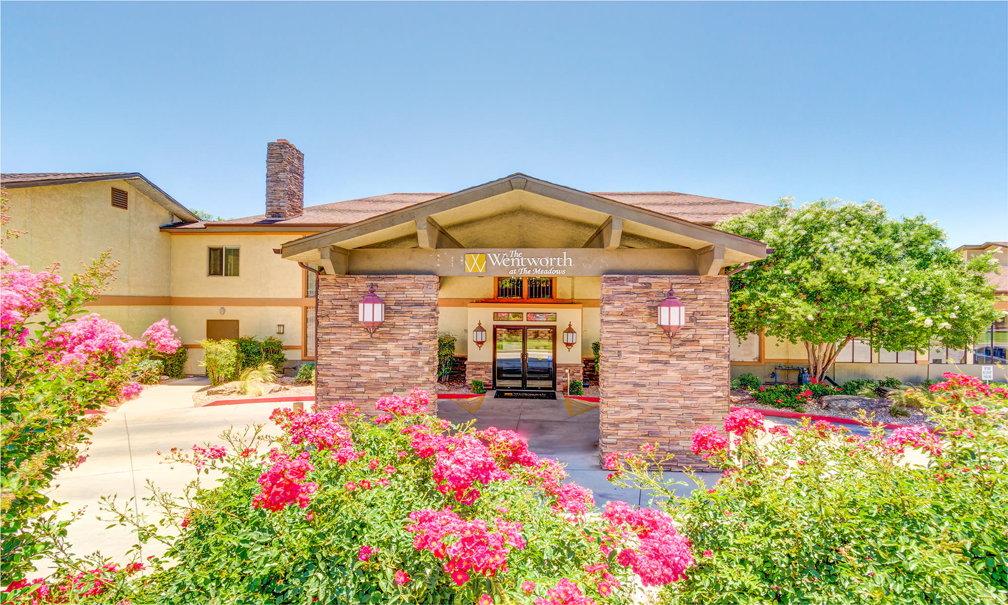 Senior living community in Saint George has an open common room