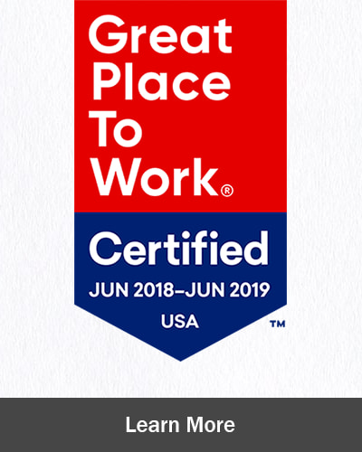 "The Creekside awarded 2018 certification as a ""Great Place to Work"""