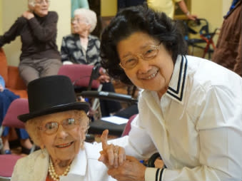 Senior living community in Carmichael lives a healthy environment lifestyle