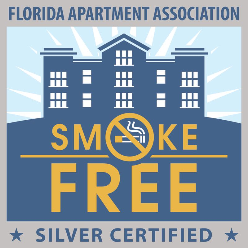Smoke free environment at 500 OCEAN Apartments in Boynton Beach, Florida