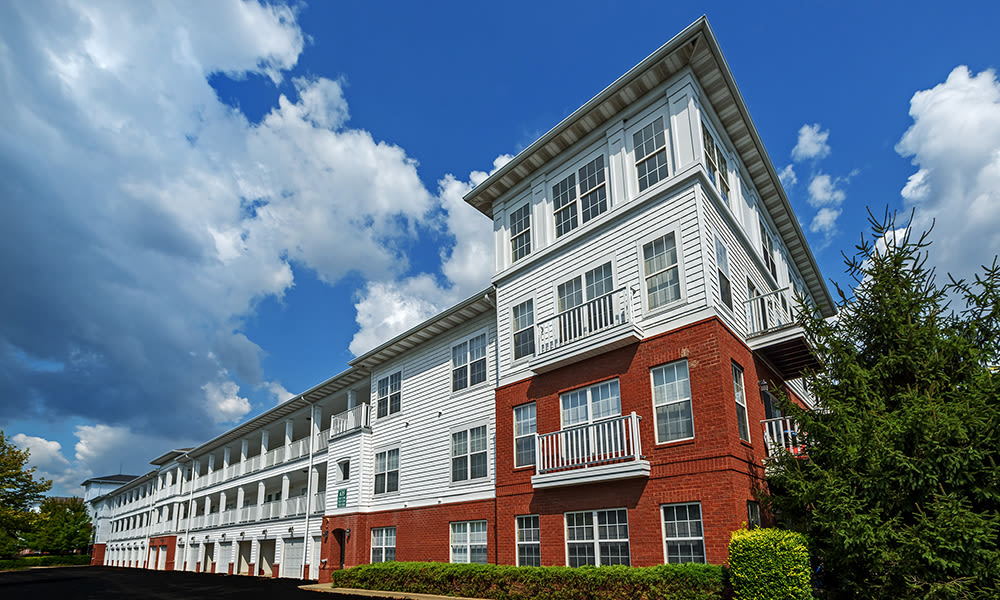 Exterior at The Waterfront Apartments
