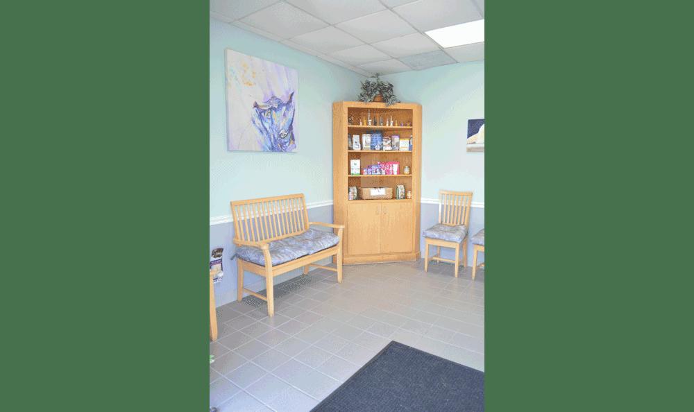Waiting Room At Hidden Valley Animal Hospital & Boarding